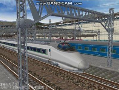 越河レイアウト400系+E3系動画2501本記念1