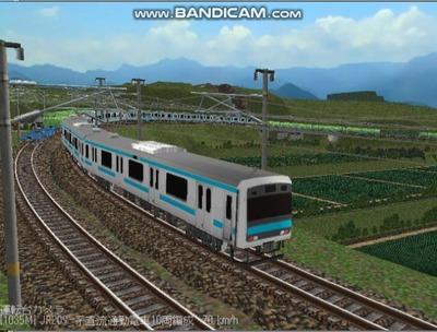 越河レイアウト電車シリーズ79-209系京浜東北線7