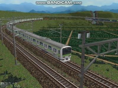 越河レイアウト電車シリーズ74-E231系山手線8
