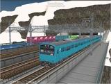 進撃の通勤電車8 201系2.