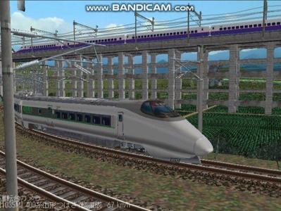 越河レイアウト特急シリーズ60-400系つばさ山形新幹線7