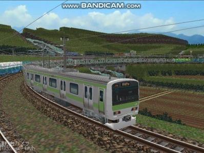 越河レイアウト電車シリーズ74-E231系山手線6