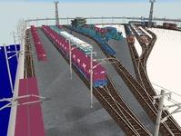 VRM3版貨物レイアウト鉄道博物館改造13