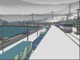 津軽海峡線コンテナ貨物7