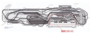 Nゲージレイアウト図臨海鉄道部分2
