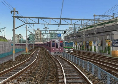 KATOレイアウトプラン6-9-阪急8000形8