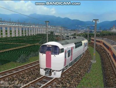 越河レイアウト特急シリーズ20-215系湘南ライナー2