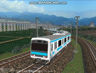 越河レイアウト電車シリーズ79-209系京浜東北線2