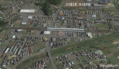 白石駅周辺グーグル地図から3