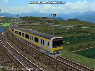 越河レイアウト電車シリーズ77-209系500番台7