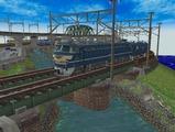 畳2枚細長レイアウト3600x900デッキガータ橋9