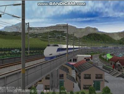 越河レイアウト東北新幹線100系VRM2版3
