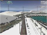 雪景色完成その26見張線9
