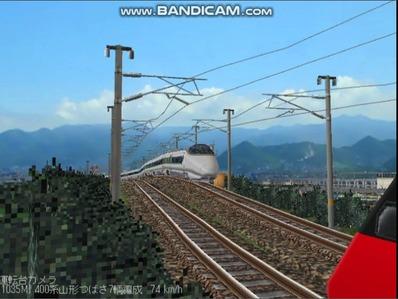 越河レイアウト特急シリーズ60-400系つばさ山形新幹線4