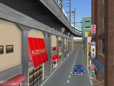 KATOユニトラックレイアウトプ6-9中央駅前周辺4