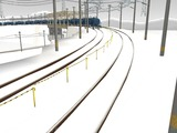 雪景色と貨物交換駅レイアウト60.jpg