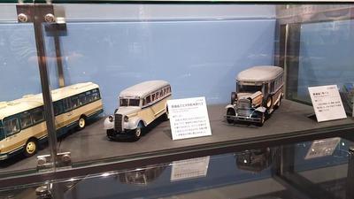 京都鉄道博物館121-鉄道省木炭バス1