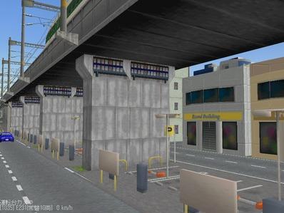 KATOユニトラックレイアウトプ6-9中央駅前周辺9
