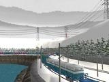 仮想津軽海峡線複線S字化工事18