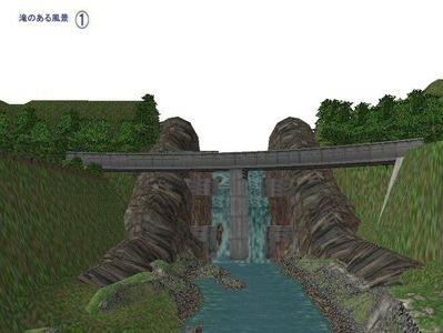 5編成並走スタジアム見張分線滝の配置1