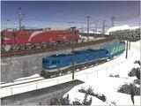 雪景色完成その12 EF58-138-2