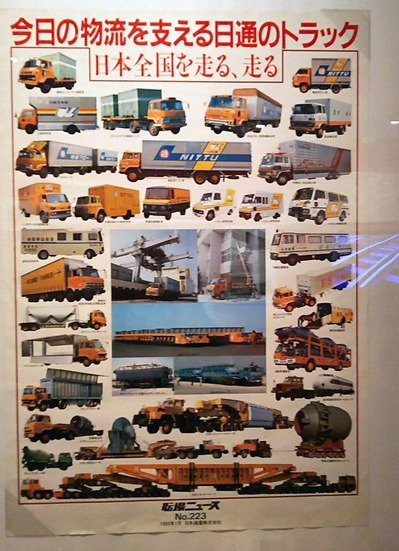 鉄博88−1983年日通ポスター1