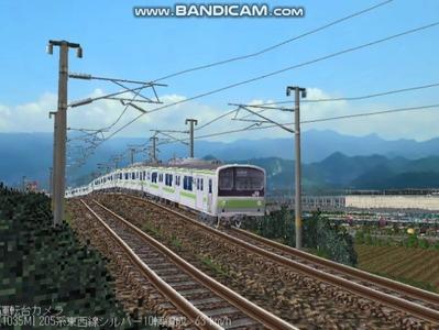 越河レイアウト電車シリーズ78-205系山手線4