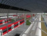 ドイツ鉄道ステーション ドーム15