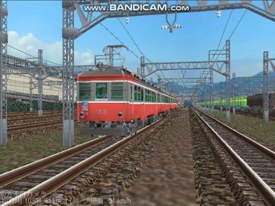 越河レイアウト103シリーズ112-箱根登山鉄道1