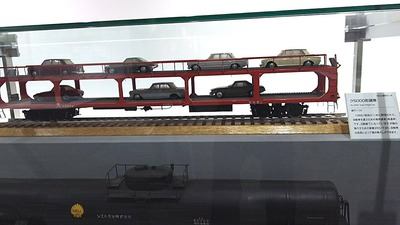 京都鉄道博物館101ク5000形自動車運搬貨車1