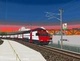 スイス国鉄IC2000二階建て客車9.