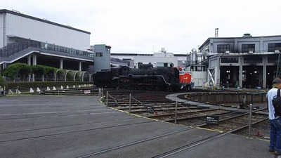 63-転車台と扇形車庫12C61
