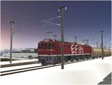 雪景色完成その5