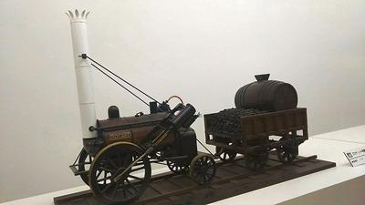 鉄博70−ロケット号蒸気機関車
