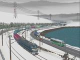 津軽海峡線コンテナ貨物9