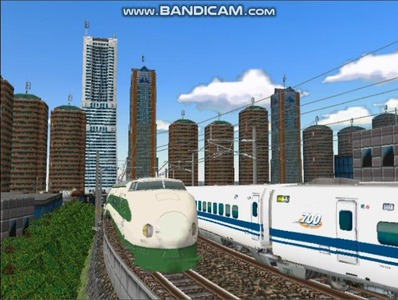新幹線勾配区間走行200系-1