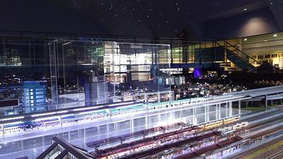 ジオラマ京都HOゲージ夜景その3