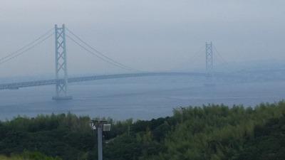 神戸淡路鳴門自動車道淡路SA明石海峡大橋3911m-2