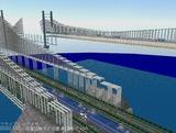 瀬戸大橋1000トン試験24