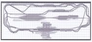 新幹線車両基本編成レール配置表Z