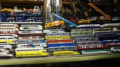 隣のおっちゃん部屋謎のダイキャスト鉄道模型2