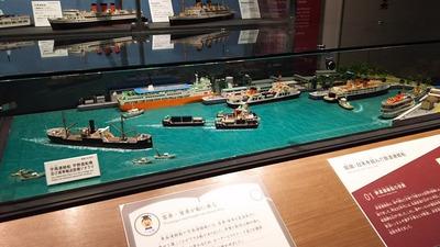 京都鉄道博物館122-宇高連絡船ジオラマ1