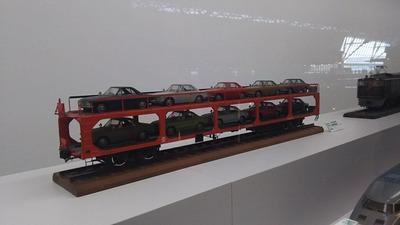 鉄博24−ク5000自動車運搬車