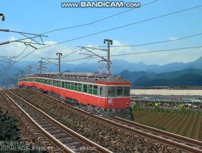 越河レイアウト103シリーズ112-箱根登山鉄道6