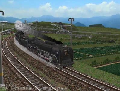 越河レイアウト特急シリーズ番外C62重連セキ3000-9