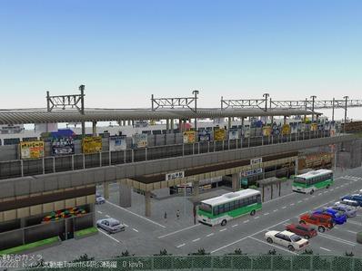 ななついろひとときVRM3レイアウト最終5高架駅1