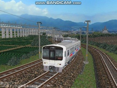 越河レイアウト電車シリーズ67-811系JR九州電車2