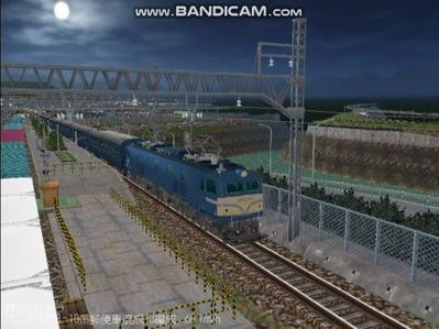 越河レイアウト夜汽車シリーズ16-EF58-157八甲田2