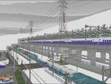 仮想津軽海峡線新幹線追加工事2