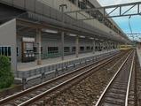 3欲張り新幹線レイアウト踏切道部分102